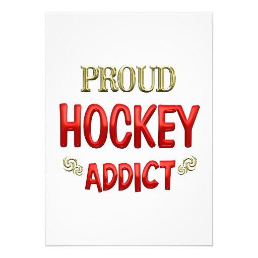 Hockey Addict Invite