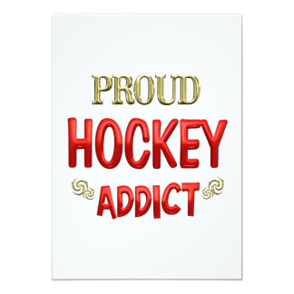 Hockey Addict Invite
