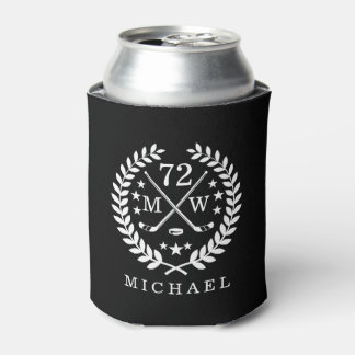 Hockey ALL-STAR Personalized Initials and Name Can Cooler