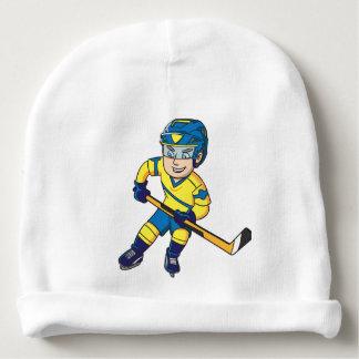 Hockey baby beanie