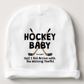 Hockey Baby Missing Teeth Infant Baby Beanie