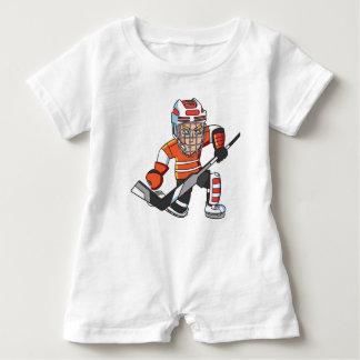 Hockey baby romper baby bodysuit