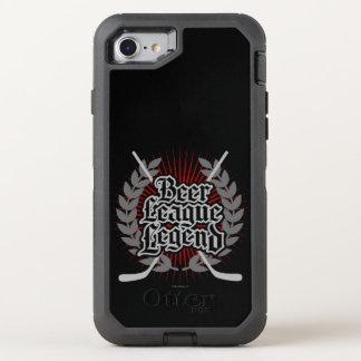 Hockey Beer League Legend OtterBox Defender iPhone 7 Case