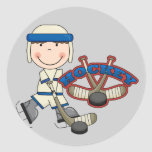 HOCKEY - Boy Tshirts and Gifts Stickers
