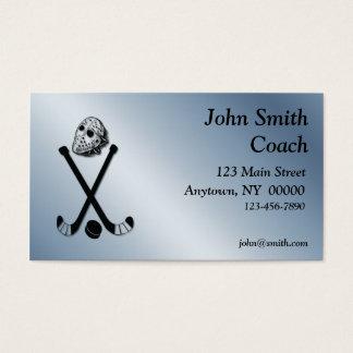 Hockey Business Card