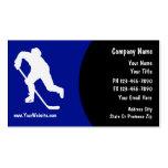 Hockey Business Cards