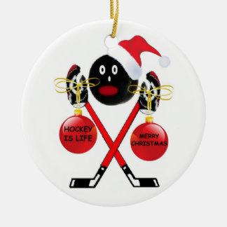 Hockey Christmas Christmas Ornament