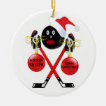 Hockey Christmas Christmas Ornaments