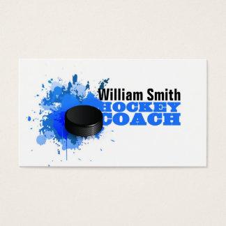 Hockey Coach Business Card