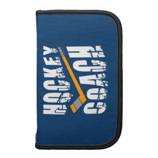 Hockey Coach Stick Folio Planners