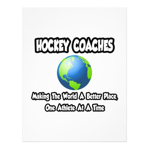 Hockey Coaches...Making the World a Better Place Flyers
