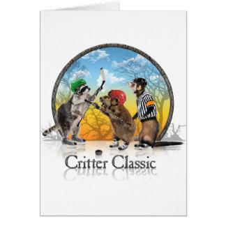 Hockey Critter Classic Card