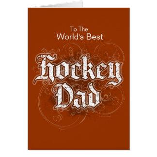 Hockey Dad Card