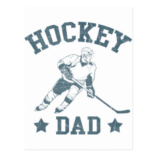 Hockey Dad Cards Stickers Post Cards