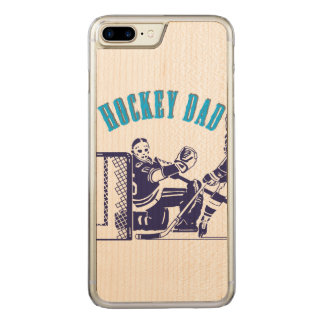 Hockey Dad Carved iPhone 7 Plus Case