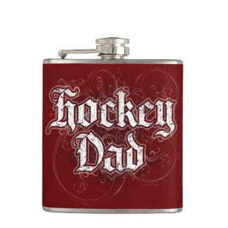 Hockey Dad Flask