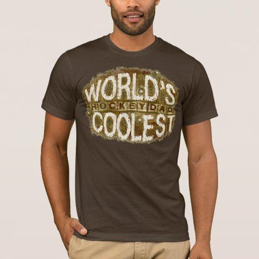 Hockey Dad Grunge Dark T-Shirt