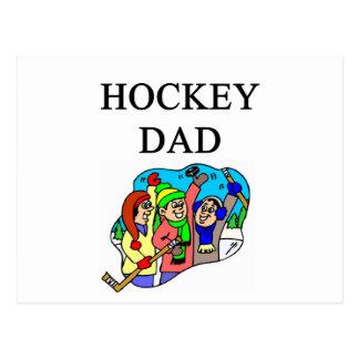 hockey dad postcards