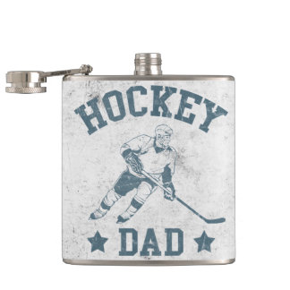 Hockey Dad Stainless Steel Hip Flask