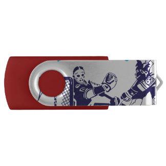 Hockey Dad Swivel USB 3.0 Flash Drive