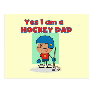 Hockey Dad T-shirts and Gifts Postcards