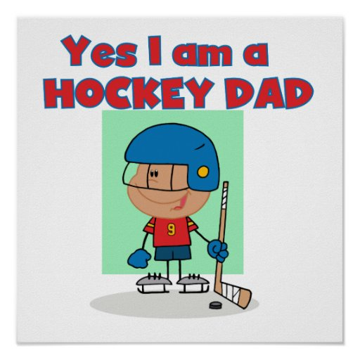 Hockey Dad T-shirts and Gifts Print