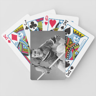 Hockey Defenseman Bicycle Playing Cards