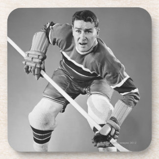 Hockey Defenseman Coaster