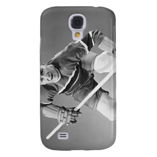 Hockey Defenseman Galaxy S4 Case