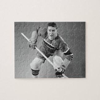 Hockey Defenseman Jigsaw Puzzle