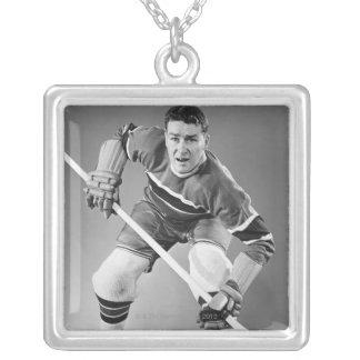Hockey Defenseman Custom Necklace
