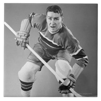 Hockey Defenseman Tile