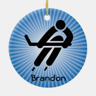 Hockey Design Ornament