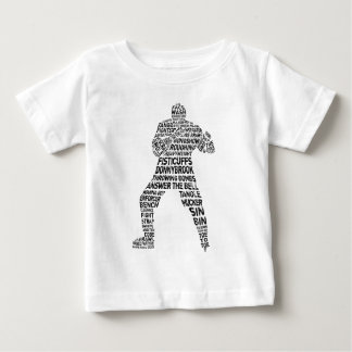 Hockey Enforcer Baby T-Shirt