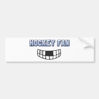 Hockey Fan Bumper Sticker