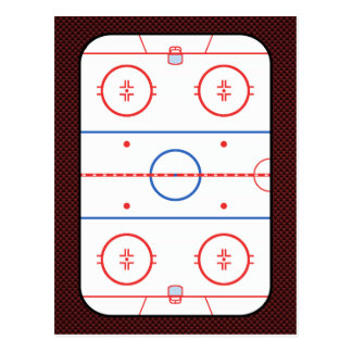 Hockey Game Companion Autograph Ready Postcard