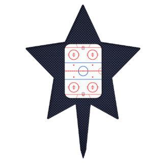 Hockey Game Companion Carbon Fiber Style Cake Picks