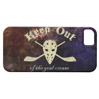 Hockey Goalie Goal Crease Barely There iPhone 5 Case