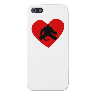 Hockey Goalie Heart Cover For iPhone 5