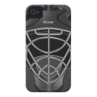 Hockey Goalie Helmet iPhone 4 Cover