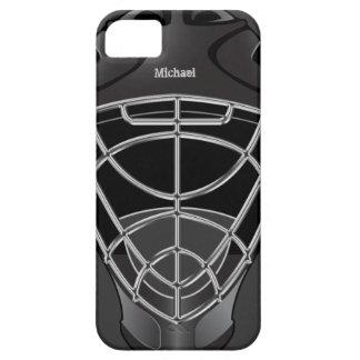 Hockey Goalie Helmet iPhone 5 Cases