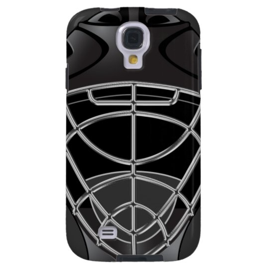Hockey Goalie Helmet Galaxy S4 Case