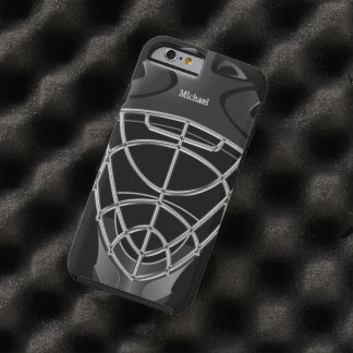 Hockey Goalie Helmet Tough iPhone 6 Case