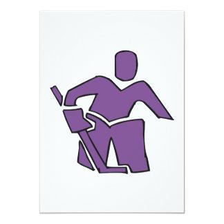 Hockey Goalie 13 Cm X 18 Cm Invitation Card