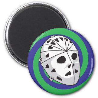 hockey goalie mask refrigerator magnets
