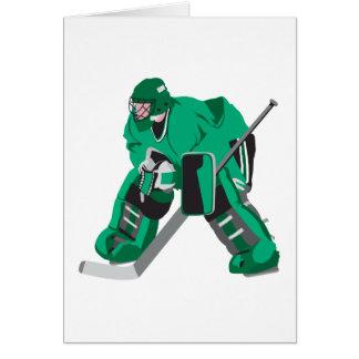 hockey goalie ready card