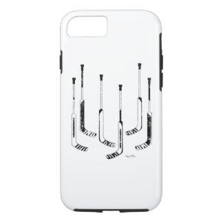 Hockey Goalie Sticks iPhone 7 Case