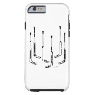 Hockey Goalie Sticks Tough iPhone 6 Case