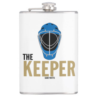 Hockey Goalie The Keeper Flasks