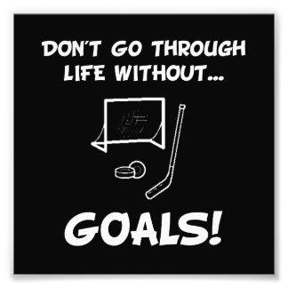 Hockey Goals Art Photo